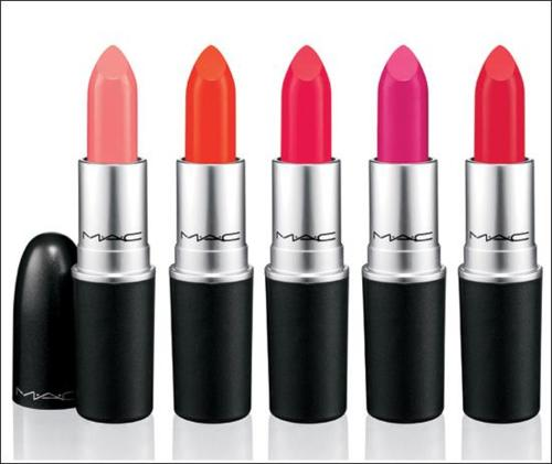 MAC iris apfel lippies!