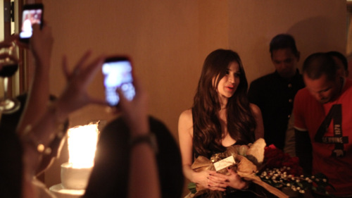 V slept at 5am for this… @annecurtissmith HAPPY BIRTHDAY!