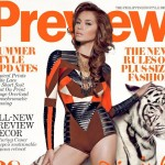 Divine Lee covers preview magazine april 2012 issue photo