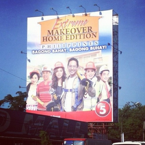 Yey! Extreme Makeover Home Edition