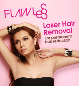 Check out our new commercial for FLAWLESS! Yey!