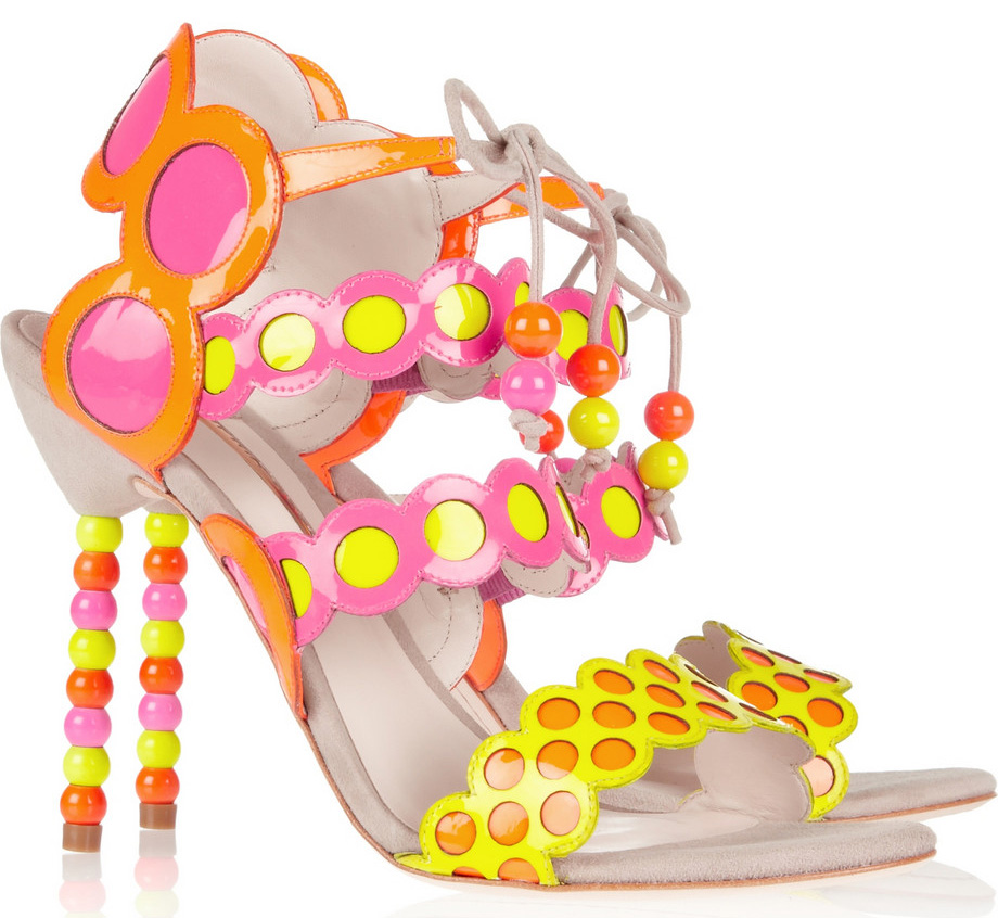 I love new shoe designer Sophia Webster!