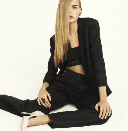 TREND ALERT: Cropped top and high-waisted pants