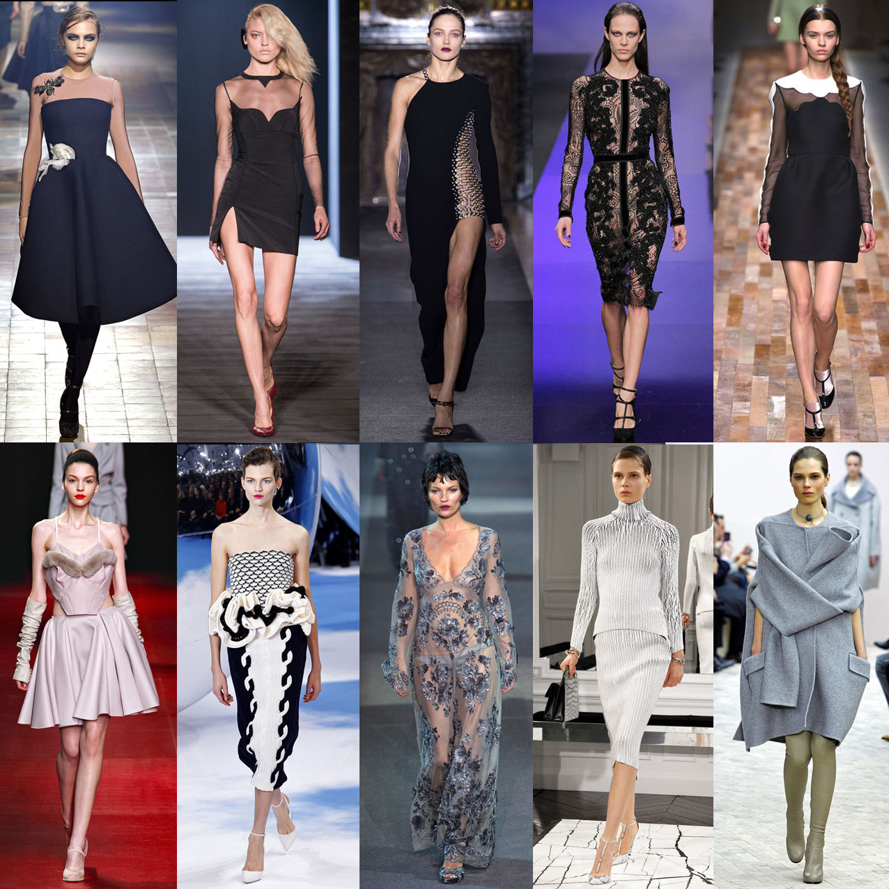 My top 10 Paris Fashion Week A/W 13 collections!