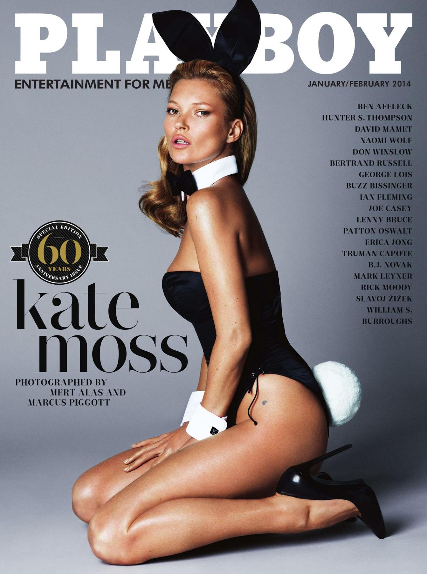 Kate Moss for Playboy (NSFW)