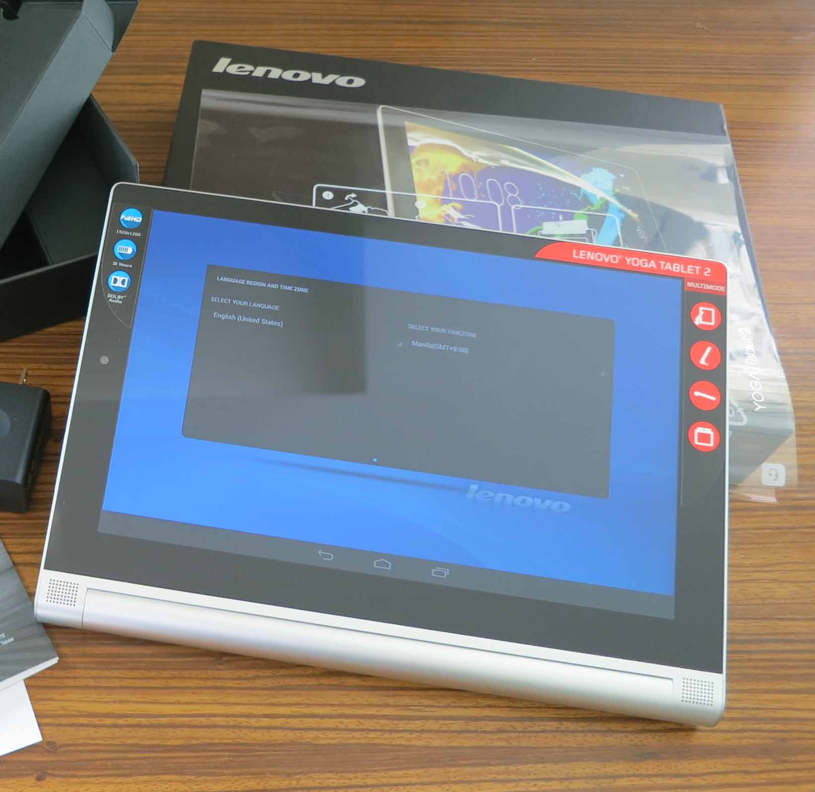 Lenovo YOGA Tablet 2 10″