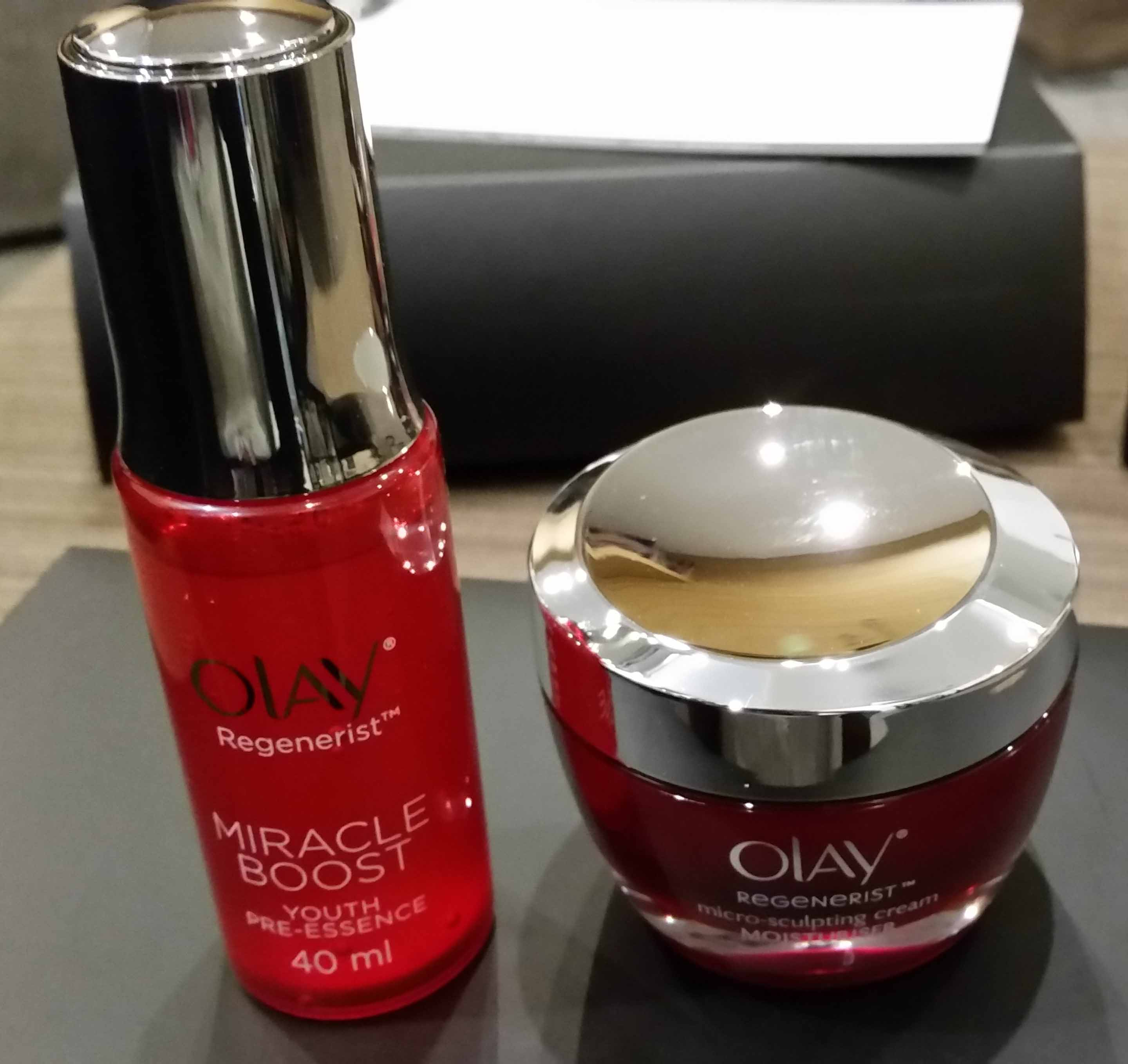 Olay Regenerist: Miracle Booster & Micro-sculpting Cream