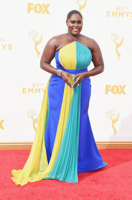 LOS ANGELES, CA - SEPTEMBER 20: Actress Danielle Brooks attends the 67th Annual Primetime Emmy Awards at Microsoft Theater on September 20, 2015 in Los Angeles, California. (Photo by Jason Merritt/Getty Images)