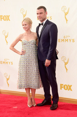 LOS ANGELES, CA - SEPTEMBER 20: Actors Naomi Watts and Liev Schreiber attend the 67th Annual Primetime Emmy Awards at Microsoft Theater on September 20, 2015 in Los Angeles, California. (Photo by Frazer Harrison/Getty Images)