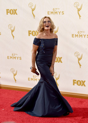 LOS ANGELES, CA - SEPTEMBER 20: Actress Jessica Lange attends the 67th Annual Primetime Emmy Awards at Microsoft Theater on September 20, 2015 in Los Angeles, California. (Photo by Larry Busacca/Getty Images)