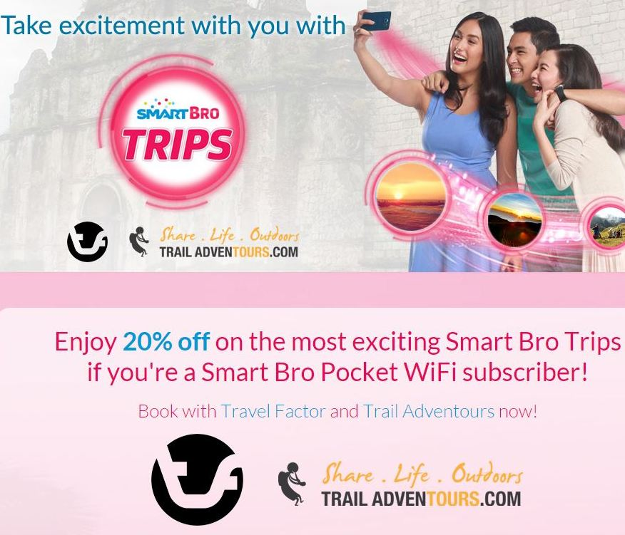 Smart Bro Trips: Trail Adventours